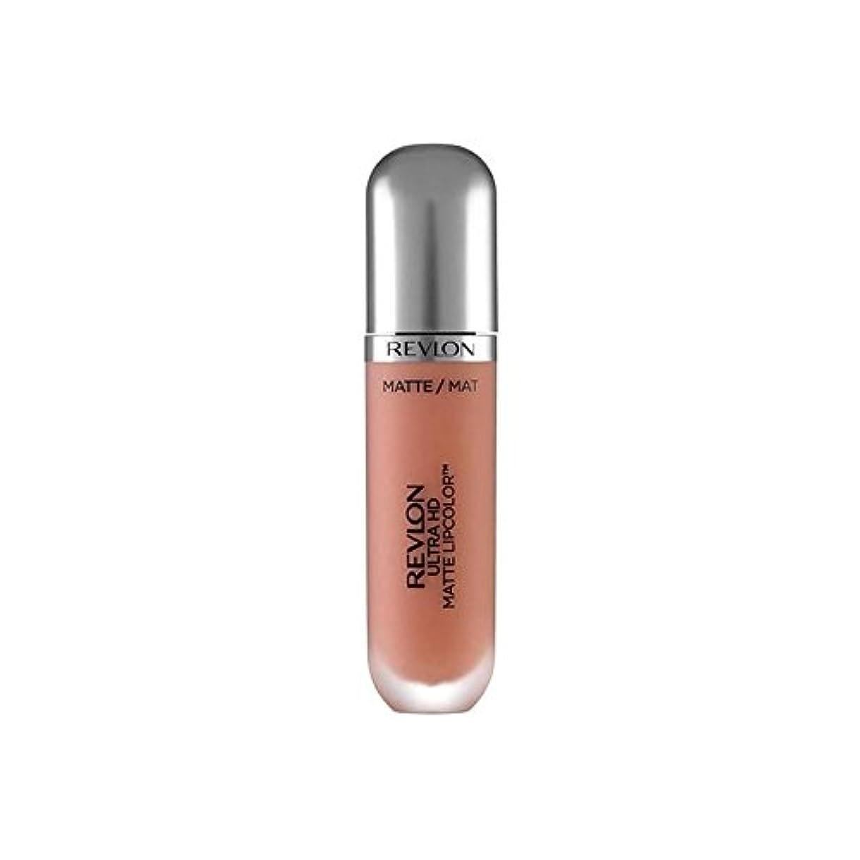 保守可能贈り物栄光のRevlon Ultra HD Matte Lipstick Seduction 5.9ml - レブロンウルトラマット口紅誘惑の5.9ミリリットル [並行輸入品]