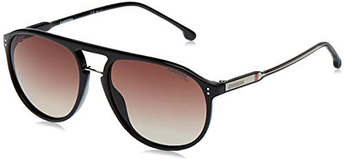 Carrera 212/S Sunglasses, Black, 58 Unisex-Adult