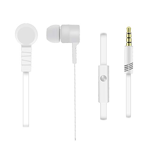 Acer In Ear Headphones (Clear Sound, Simple and Stylish Design, 3.5mm Jack, 1.2m Cable Length) White