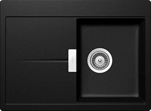 Schock Horizont D-100S-A Küchenspüle, Spüle, Waschbecken, CRISTADUR, Magma
