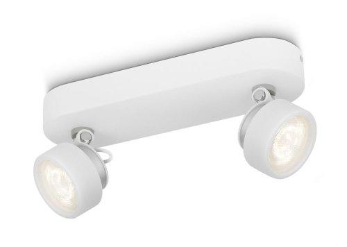 Philips 532723116 Rimus Spot LED 3 W 230 V Blanc