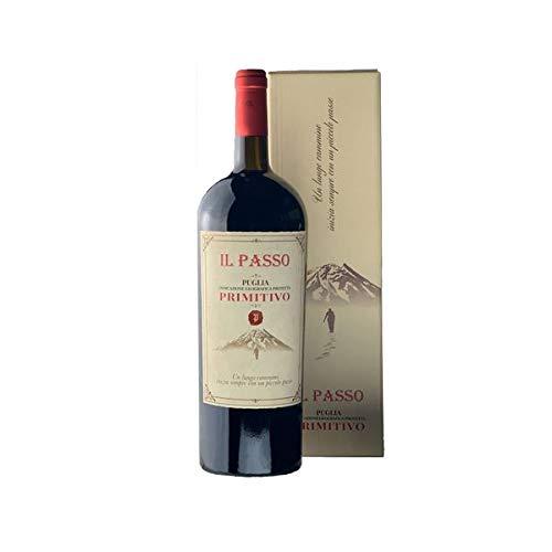 Rotwein Italien Primitivo Il Passo Puglia trocken Magnum (1x1,5L)