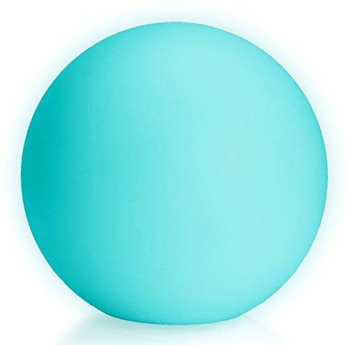 LED Boule Sphère lumineuse Ø 40 cm multicolore RGB 16 couleurs sans câble avec accumulateur et télécommande Etanche et flottant IP65 Extérieur Guirlande lampe mood ball decoration Luminaire Design