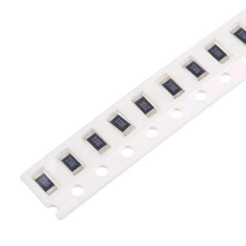 uxcell SMD Chip Resistor, 330 Ohm 1/4W 1206 Fixed Resistors, 1% Tolerance 1000pcs