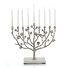 Michael Aram Botanical Leaf Menorah | Bloomingdale's
