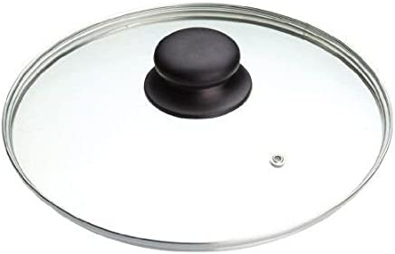 Tapa de repuesto B&F, de vidrio templado, para cacerolas o sartenes (14 cm, 16 cm, 18 cm, 20 cm, 22 cm, 24 cm, 26 cm, 28 cm, 30 cm, 32cm), vidrio, 32 cm