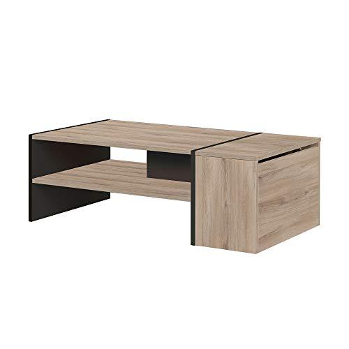Diagone YORI Table Basse Bar, Coffre, (Lxlxh) : 110 x 60 x 36