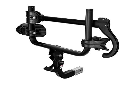 Kuat Racks Transfer Hitch Mount Bicycle Rack - 1-Bike Hitch Mount - TS01B -Fits 1.25' and 2' receivers - for 20-29' Wheels up to 4.5' Wide (1 Bike - TS01, Matte Black)