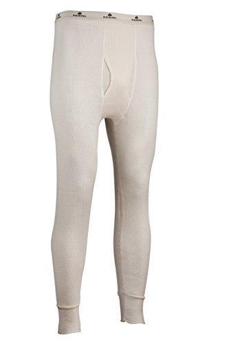Indera Men's Tall Maximum Weight Thermal Underwear Pant, Natural, 2X