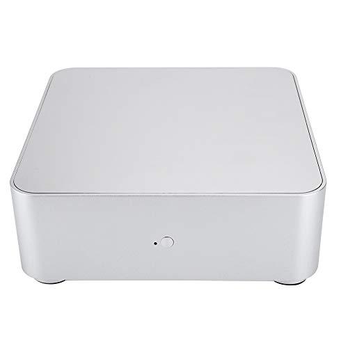 FOLOSAFENAR Caja de la computadora, aleación de Aluminio Exquisita de la Caja de Aluminio de la Caja de la computadora HTPC para la disipación de Calor