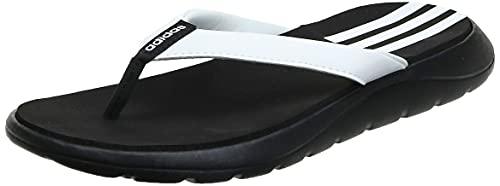 adidas Damen Comfort, CBLACK/FTWWHT/CBLACK, 40.5 EU