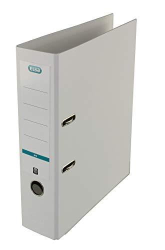 Elba smart Pro – PP – Carpeta de cartón (Almacenamiento, Cartón, Amarillo, Gris, 285 mm, 318 mm)