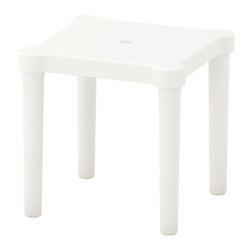 Ikea 3 packs Children's stool, indoor/outdoor, white
