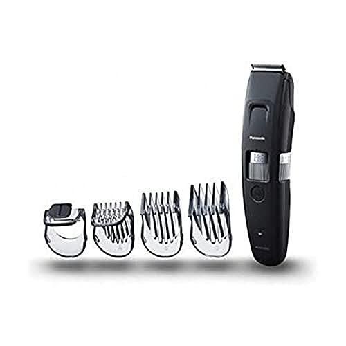 Panasonic, tagliacapelli e rasoio ER-GB96-K503, con lama a pettine, rifinitura della barba per uomini, 58 lunghezze di taglio preciso per barba e capelli, colore nero, batteria