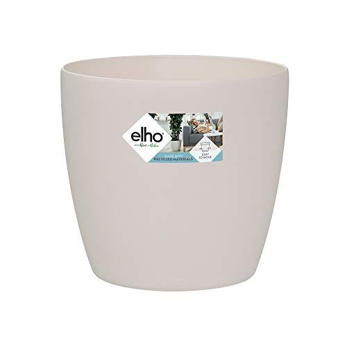 Elho Brussels Rund Rollen 40 - Blumentopf - Elfenbein - Drinnen - Ø 39.1 x H 35.9 cm