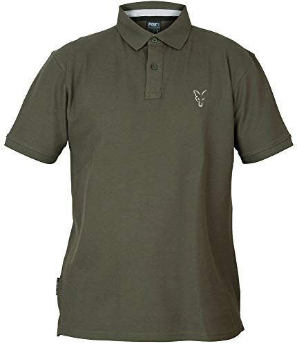 Fox Collection Green Silver Polo Shirt - Poloshirt, Größe:XXXL