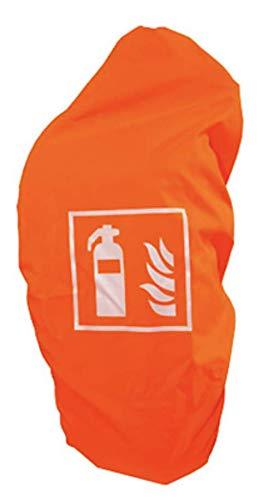 Gitterhaube rot Schutzhaube 6 Kg Feuerlöscher Haube Abdeckung Überzug neonrot von MBS-FIRE®