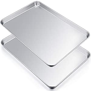 P&P CHEF Stainless Steel Extra Large Baking Sheet Set