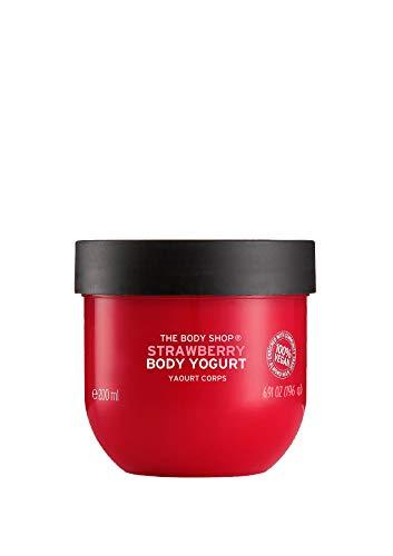 The Body Shop Strawberry Body Yogurt, 200ml (Vegan)