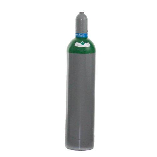 Argonflasche Argon 4.6 20 Liter fabrikneu zum WIG Schweissen