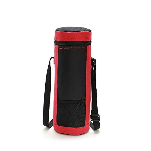 Durable, versátil, fácil de transportar. Bolsa de aislamiento de vino Cilindro portátil Paquete de aislamiento de tela Oxford Wine Ice Bbag SH0073 / 4L (Azul marino), tela Oxford impermeable y a prueb