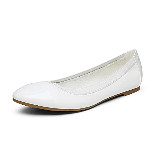 Top 10 best selling list for flat white shoes for graduation