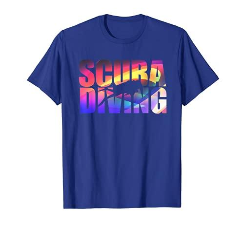 Camiseta de buceo divertida para amantes del buceo Camiseta