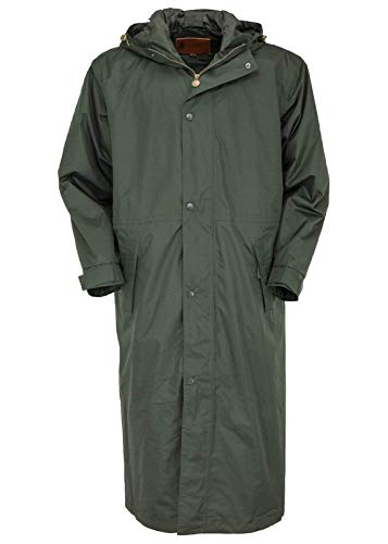 Outback Trading Standard Long Sleeve Rain Coa, Dark Olive, X-Small