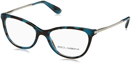 Dolce & Gabbana 0Dg3258, Monturas de Gafas para Mujer, Petroleum Cube, 52