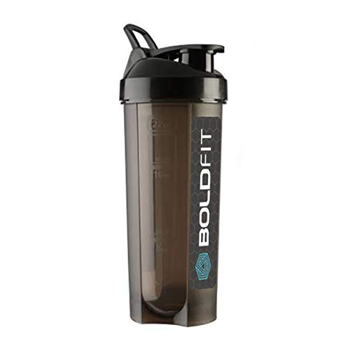 Boldfit Typhoon Gym Shaker Bottles for Protein Shake 100% Leakproof Guarantee, Ideal for Protein, Whey, Preworkout and Bcaas, Bpa Free Material for Men & Women