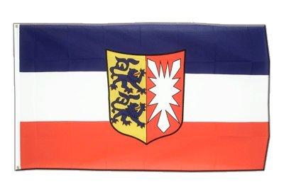 Deutschland Schleswig Holstein Flagge, holsteinische Fahne 90 x 150 cm, MaxFlags®