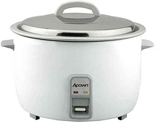 Adcraft RC-E25 Heavy-Duty 25-Cup Rice Cooker, 1550-Watts, 120v