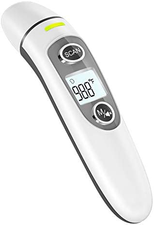 Thermometer for Adults Touchless Digital Infrared Thermometer for Fever Ear and Forehead Thermometer product image