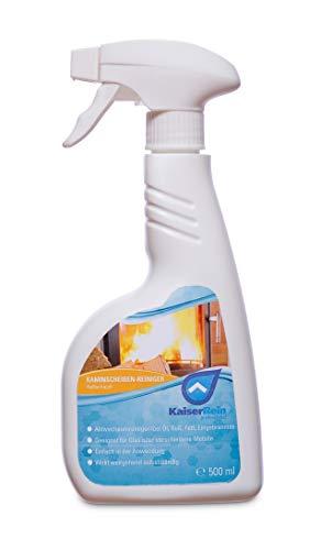 KaiserRein Ofen- und Kamin-Scheiben-Reiniger Spray 0,5 L Kamin,- und Ofen,- Glasreiniger Kaminscheiben