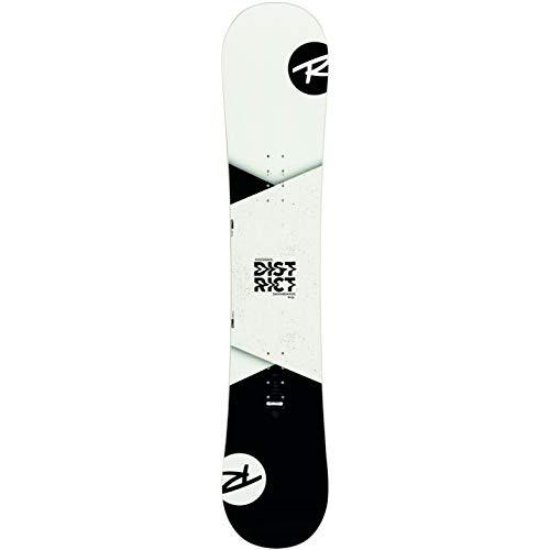 Rossignol District B&W (REIWP05) Tabla Snowboard, Hombres, Blanco/Negro, 159 cm