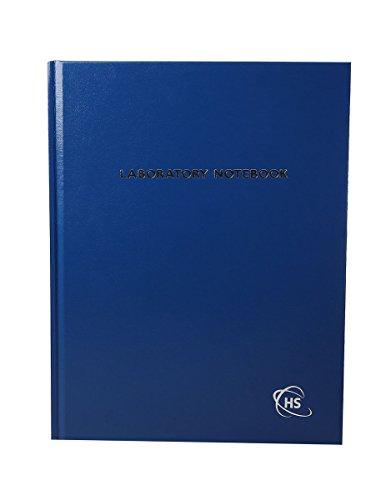 Heathrow Scientific HD8610B - Quaderno da laboratorio, 200 pagine, griglia blu