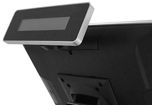 LCD Kundendisplay LCM 20x2 für AerPOS, schwarz