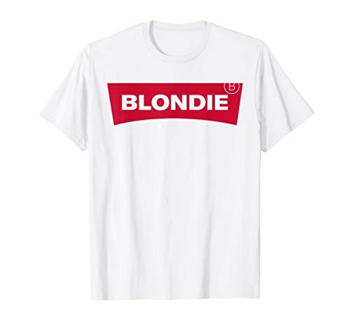 BLONDIE und Brownie BFF Beste Freundinnen T-Shirt T-Shirt