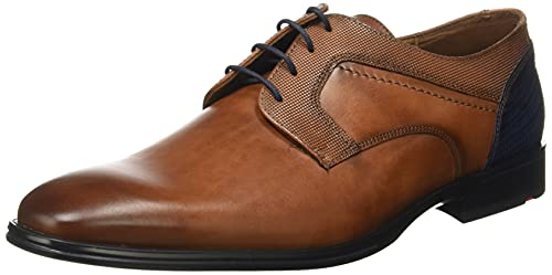 LLOYD Herren Gilbert Uniform-Schuh, Cioccolato/Ocean, 44 EU