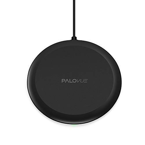 PALOVUE Qi Wireless Charger 10W Compatible Samsung S10(e/+) 9(+) S8(+)
