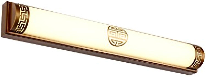 badezimmerlampe Retro Spiegel-vorderes helles geführtes Badezimmer-Lichter wasserdichtes Eitelkeit-helles Verfassungs-Lichter-Wand-Lampen-Bild-Scheinwerfer (Farbe   SCHWARZ-63  9  7.5cm)