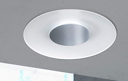 Moderne LED Deckenleuchte, 1-flg. Deckenlampe 19W Weiß IP20 EEK A Wofi RONDO