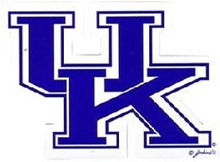 """NCAA Kentucky Wildcats Car Magnet """"UK"""" (Small, 2 Pack)"""