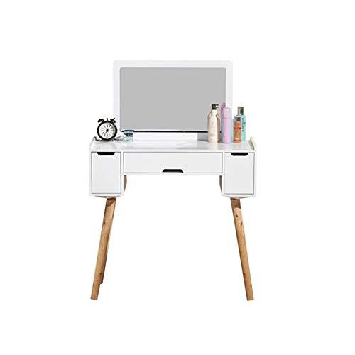 WZHZJ Tocador Moderno Minimalista Dormitorio Gabinete de Almacenamiento nórdica Maquillaje de la Tabla Net Red Inicio Mini Tabla cosmética