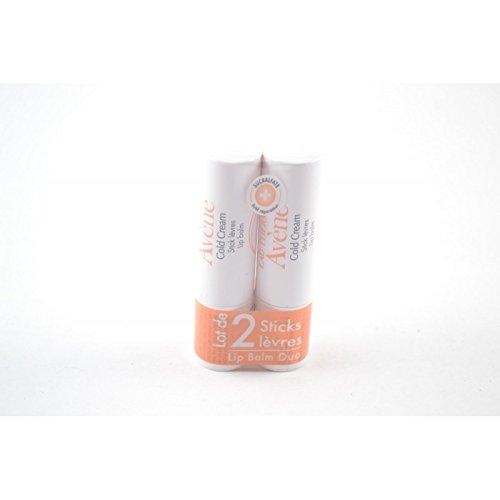 Avène Cold Cream Lip Balm x2