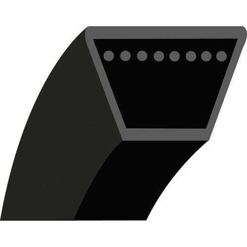 4LK66 V-riem gladde trapeziumvorm voor zitmaaier Johnn Deere model STX38 – doorsnede 1/2 inch (12,7 mm) – 12,7 x 8 mm – lengte buiten: 66 inch – 1676,40 mm – origineel nummer: M82462