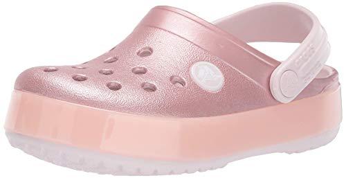 Crocs Crocband Ice Pop Clog K, Zuecos Unisex niño, Rosa (Barely Pink 6pi), 29/30 EU