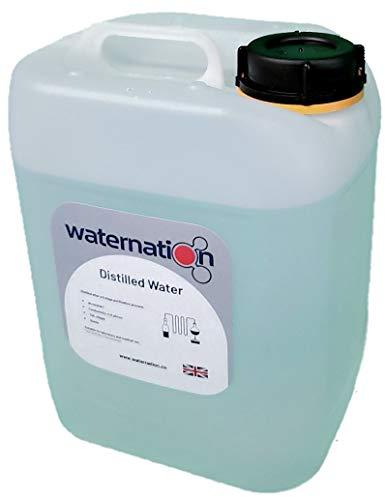Destillerat vatten 25 liter, ångkondenserad hög renhet för alla processer.