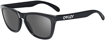 Oakley Frogskins Grey Injected Rectangular Men's Sunglasses