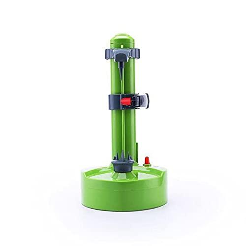 YIJIN Peladora Eléctrica,Manzana Giratoria Automática Peladora,Cocina Giratoria Multifunción Tool,Green